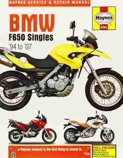 Bmw F650 Singles, '94-'07 by Haynes Publishing