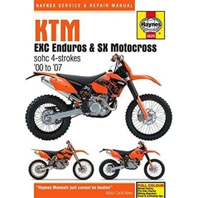Ktm Exc Enduro & Sx Motocross, '00-'07 by Haynes Publishing