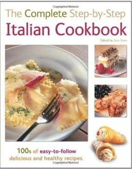 Book Complete Step By Step Italian Cook Book by Flametree
