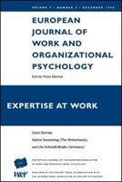 Expertise At Work: A Special Issue of the European Journal of Work and Organizational Psychology