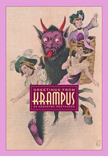 Greetings From Krampus: 24 Assorted Postcards by Monte Beauchamp