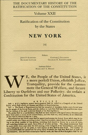 what were the essays urging ratification of the constitution called