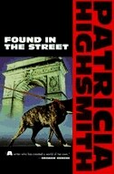 Book Found in the Street by Patricia Highsmith