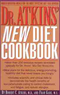 Dr. Atkins' New Diet Cookbook by M.d., Robert C. Atkins