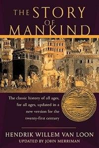 Book Story Of Mankind by Loon Hendrik Van