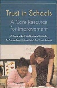 Trust In Schools: A Core Resource For Improvement