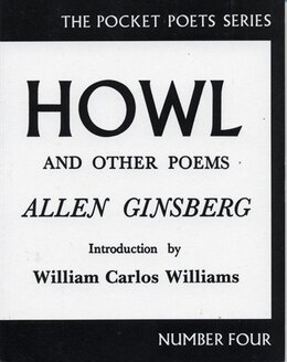 Book Howl and Other Poems by Allen Ginsberg