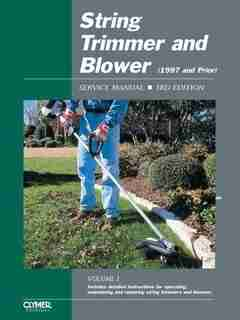 String Trimmer Srvc Ed 3 by Publishing Penton Staff