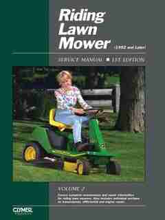 Riding Lawn Mower Service Manual Volume 2 by .. Penton Staff
