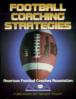 Book Football Coaching Strategies by American Football Coaches Association