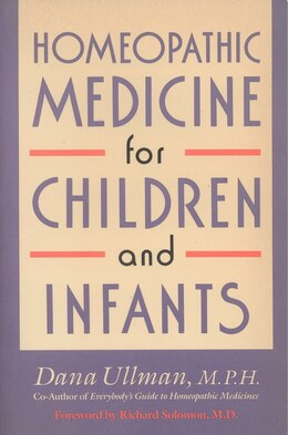 Book Homeopathic Medicine For Children And Infants by Dana Ullman