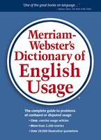 Book Merriam-Webster's Dictionary of English Usage by N/A Merriam-Webster, Inc.