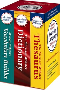 Merriam-Webster's Everyday Language Reference Set: With New Vocabulary Builder
