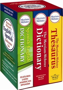 Merriam-Webster's English & Spanish Reference Set