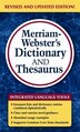 Merriam-Webster's Dictionary and Thesaurus by Merriam-Webster, Inc.