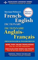 Book Merriam-Webster's French-English Dictionary by N/A Merriam-Webster, Inc.