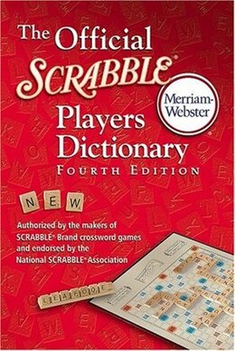 Book The Official Scrabble Players Dictionary by Inc Merriam-webster