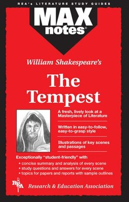 Book The Tempest (MAXNotes Literature Guides) by Corinna Siebert Ruth