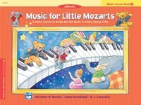 Music For Little Mozarts Music Lesson Book, Bk 1: A Piano Course To Bring Out The Music In Every…