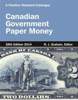 Canadian Government Paper Money, 26th Edition