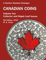 Canadian Coins, Vol. 2 - Collector & Maple Leaf Issues, 5th Ed. -  2015