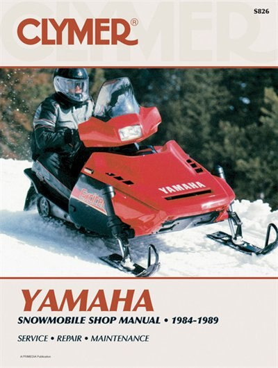 Clymer Yamaha Snowmobile Shop Manual 1984-1989: Service, Repair, Maintenance by Penton Staff
