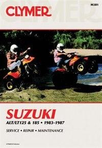 Suzuki Alt/lt125 & 185 83-87 by .. Penton Staff