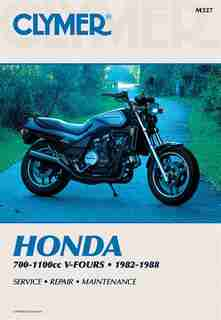 Clymer Honda 700-1100cc V-fours 1982-1988: Service, Repair, Maintenance by Penton Staff
