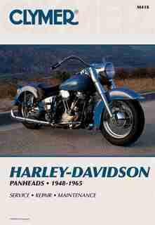 Clymer Harley-davidson H-d Panheads 1948-1965: Service, Repair, Maintenance by Penton Staff