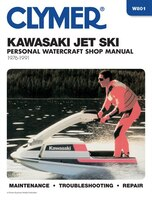 Clymer Kawasaki Jet Ski Personal Watercraft Shop Manual, 1976-1991: Maintenance, Troubleshooting…