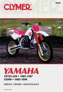 Clymer Yamaha Yz125-490, 1985-1990: Service, Repair, Maintenance by Penton Staff