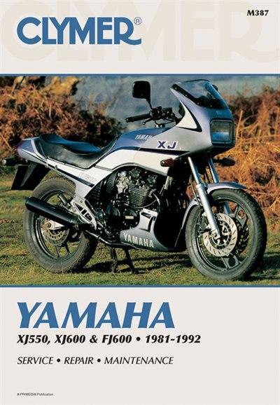 Clymer Yamaha Xj550, Xj600 & Fj600 1981-1992: Service, Repair, Maintenance by Ron Penton Staff
