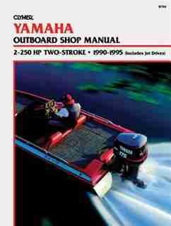 Yamaha 2-225 Hp 2-stroke 90-95 by Publications Penton Staff