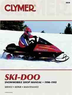 Ski-doo Snowmobile 90-95 by Clymer Publishing Penton Staff