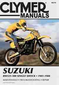Suzuki Rm125-500 81-88 by Penton Staff