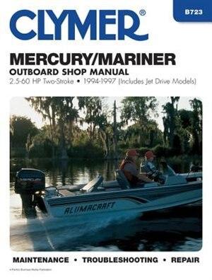 Mercury Marine 2 5-60 Hp Ob 94-97