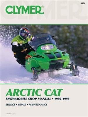 Arctic Cat Snowmobile 90-98 by .. Penton Staff