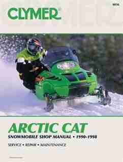 Arctic Cat Snowmobile 90-98 by .. Penton Staff