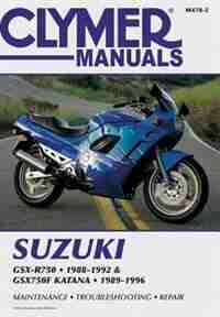 Suzuki Gsxr750/gsx750f Katn 88-96 by .. Penton Staff
