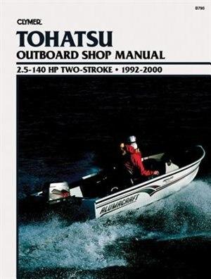 Tohatsu 2-stroke Ob 92-00 by .. Penton Staff
