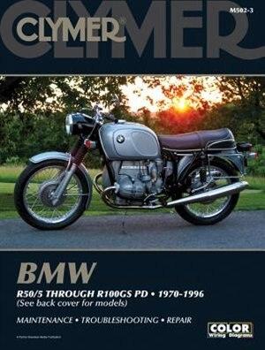 Bmw R50/5 Through R100gs Pd 1970-1996 by Ed Penton Staff