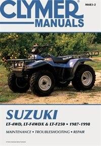 Suzuki Lt-4wd, Lt-wdx & Lt-f250 1987-1998 by .. Penton Staff