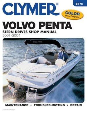 Volvo Penta Stern Drive Shop Manual 2001-2004 by Penton Staff