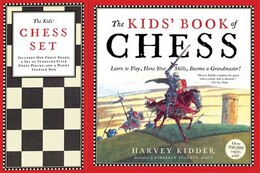 Book Kids' Book of Chess and Chess Set by Harvey Kidder