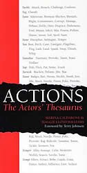 Actions: The Actors Thesaurus