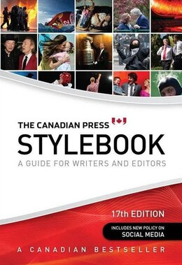 Book The Canadian Press Stylebook: A guide for writers and editors by James McCarten