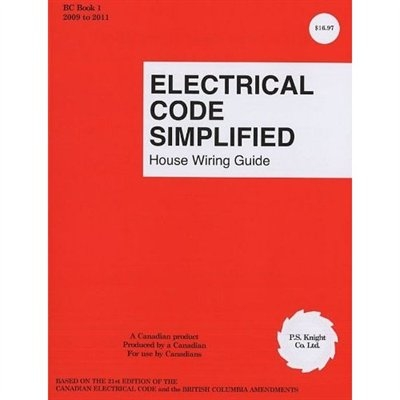 Electrical Code Simplified Bc Book 1 House Wiring Guide