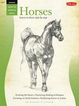 Book Drawing: Horses: Horses by William Walter  Foster