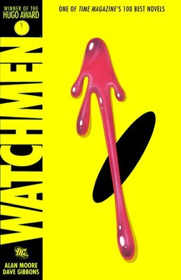 Book Watchmen by Alan Moore