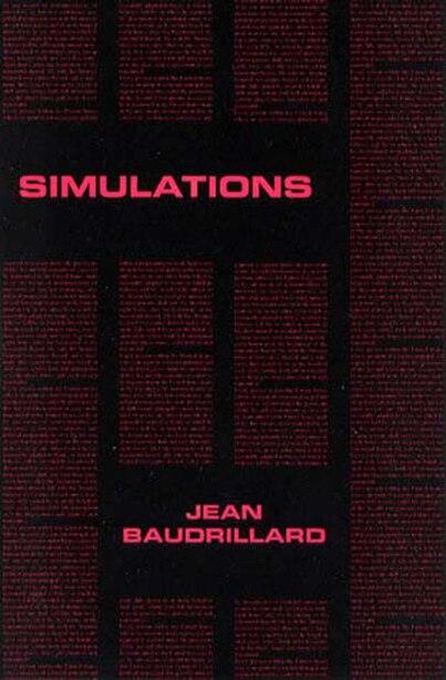 Simulations by Jean Baudrillard